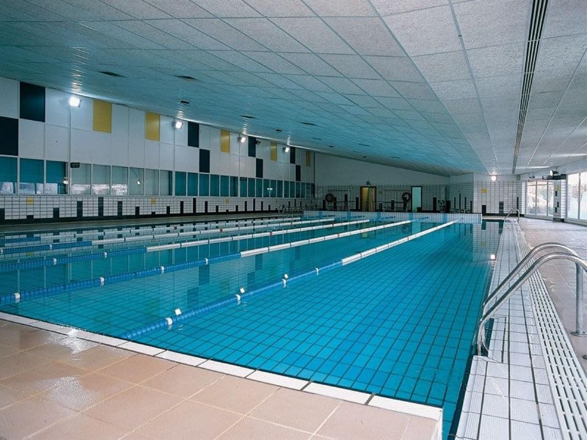 Piscina cubierta del Palacio de Deportes de Zaragoza