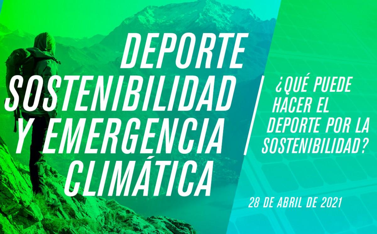 Webinar «Deporte, sostenibilidad y emergencia climática»