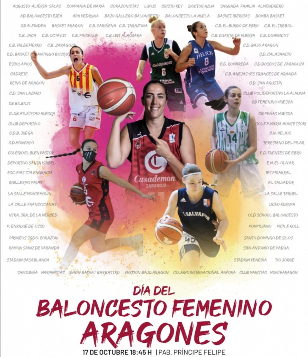 Día del Baloncesto Femenino Aragonés 2021