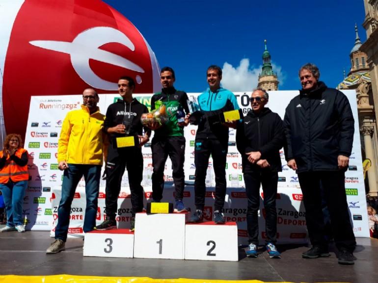 Podium Maratón Masculino