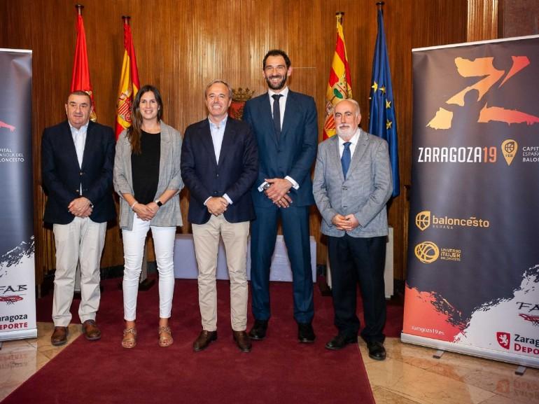 Zaragoza acoge los siete partidos de la primera jornada de la Liga Día de baloncesto femenino