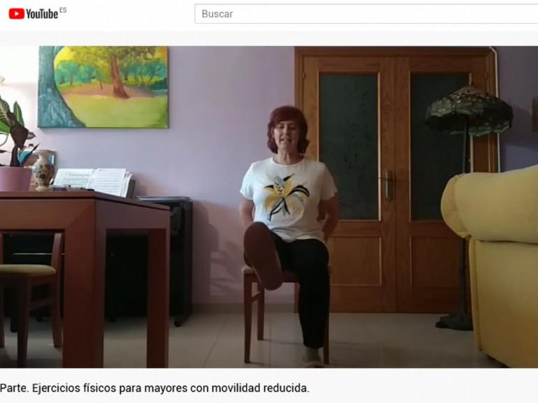 La Concejalía de Mayores promueve la actividad física y mental desde casa para mantener hábitos saludables durante el confinamiento