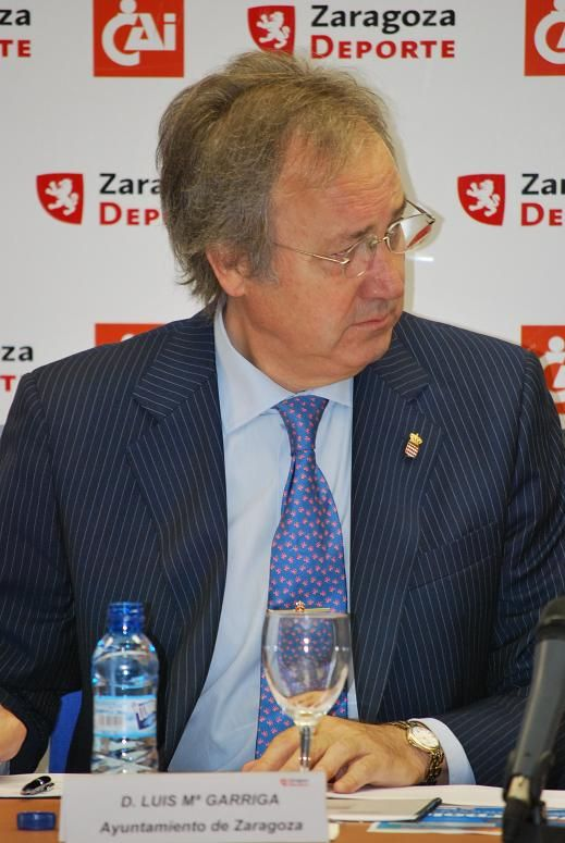 D. Luis Mª Garriga (Ayuntamiento de Zaragoza)