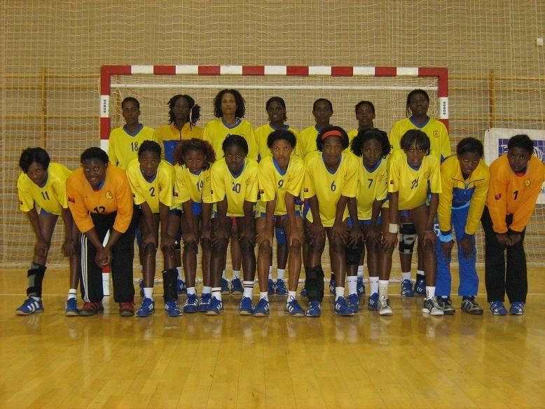 Trofeo «CAI Ciudad de Zaragoza» de balonmano femenino - Selección Angola