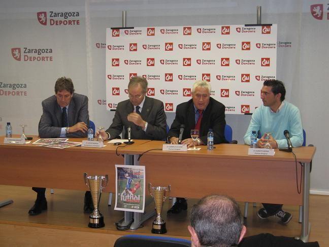 Presentación Trofeo «CAI Ciudad de Zaragoza» de FÚTBOL femenino 21/10/2009