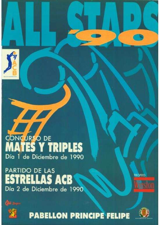12 marzo 1990 ALL STAR FEMENINO DE BALONCESTO