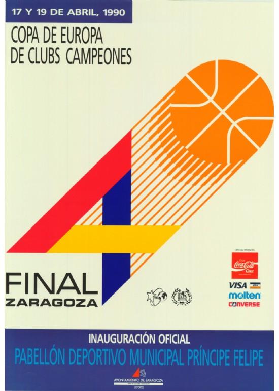 17 a 19 abril 1990 INAUGURACIÓN OFICIAL -  FINAL FOUR BALONCESTO