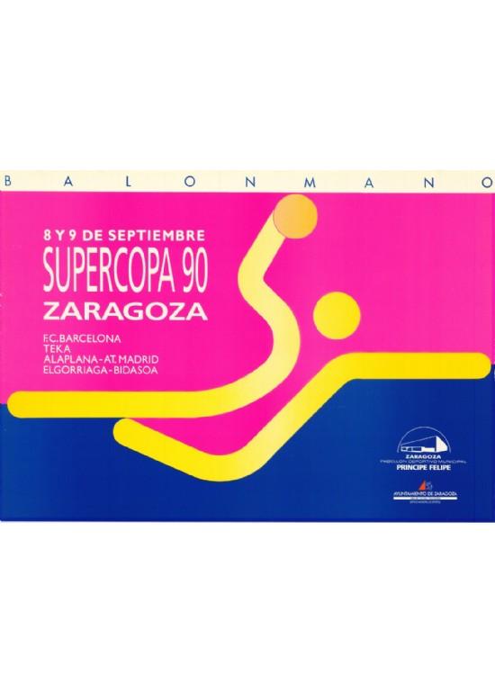 8 y 9 septiembre 1990 SUPERCOPA DE BALONMANO