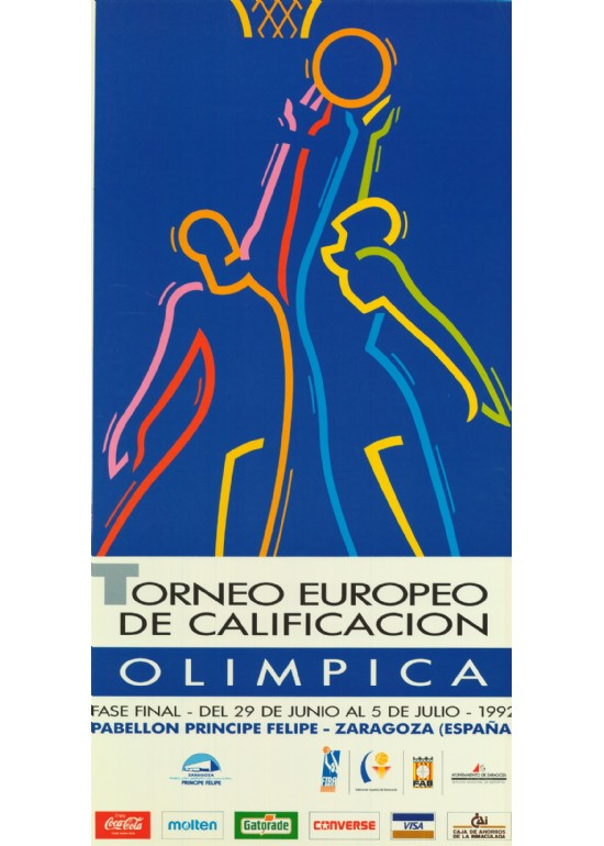 28 junio al 5 julio 1992 TORNEO PREOLÍMPICO DE BALONCESTO MASCULINO (FASE FINAL)