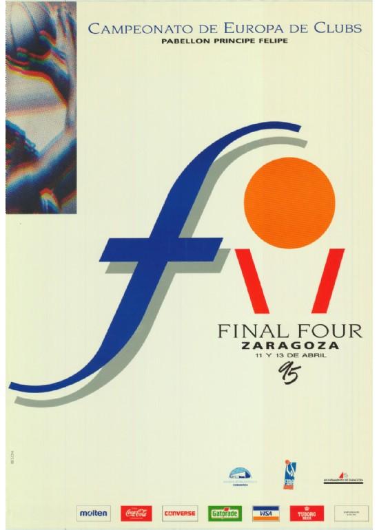 11 a 13 abril 1995 FINAL FOUR BALONCESTO