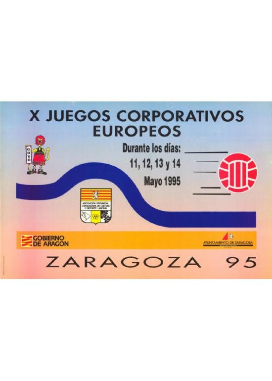 11 a 14 mayo 1995 JUEGOS CORPORATIVOS EUROPEOS BALONCESTO Y CLAUSURA