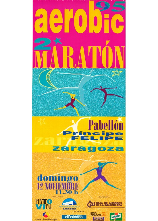 12 noviembre 1995 II MARATÓN DE AERÓBIC