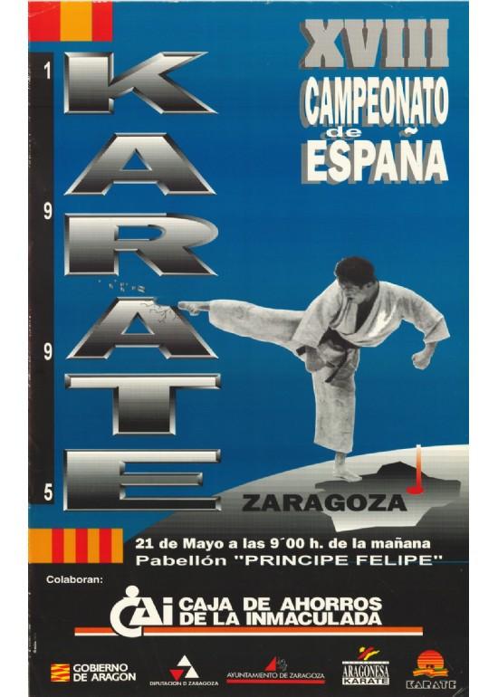 21 mayo 1995 CAMPEONATO DE ESPAÑA DE KARATE