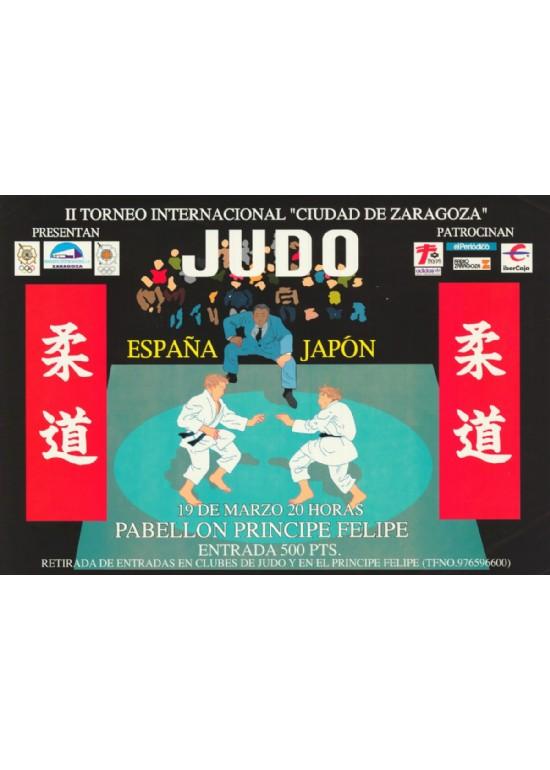 20 marzo 1996 TORNEO DE JUDO JAPÓN-ESPAÑA-ARAGÓN