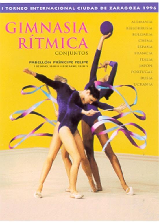 1 y 2 junio 1996 TORNEO INTERNACIONAL DE GIMNASIA RÍTMICA – ATLANTA'96