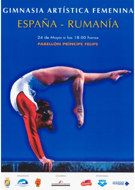 24 mayo 1997 TORNEO INTERNACIONAL DE GIMNASIA ARTÍSTICA FEMENINA ESPAÑA – RUMANÍA