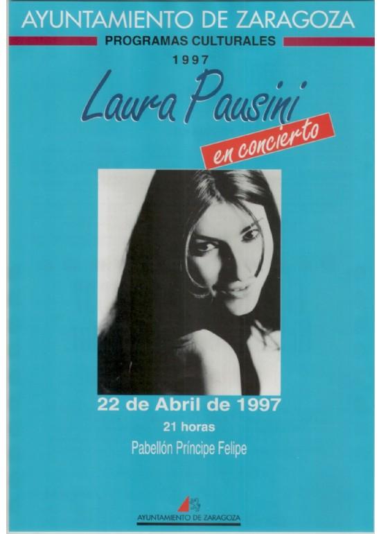 """22 abril 1997 CONCIERTO """"LAURA PAUSINI"""""""