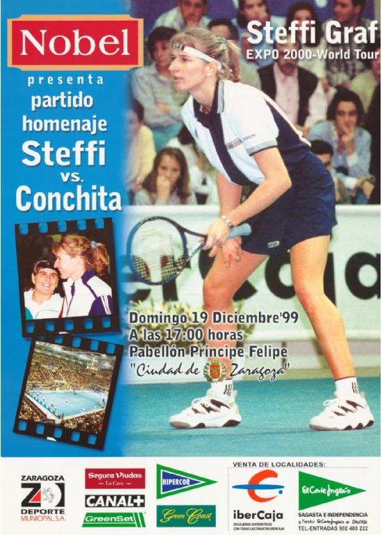 19 de diciembre 1999 TENIS INDOOR HOMENAJE A STEFFI GRAFF
