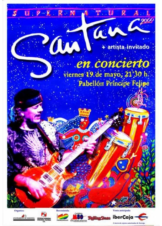"""19 mayo 2000 CONCIERTO DE """"SANTANA"""""""