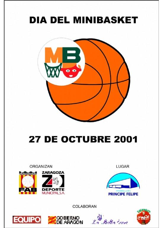 27 octubre 2001 VI DÍA DEL MINIBASKET