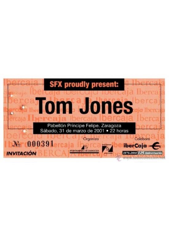 """31 marzo 2001 CONCIERTO DE """"TOM JONES"""""""