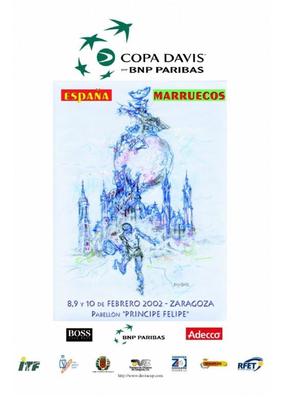 8 a 10 febrero 2002 COPA DAVIS: ESPAÑA - MARRUECOS