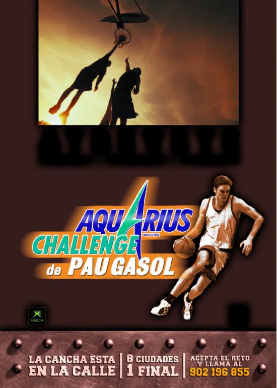 7 a 8 junio 2003 «PAU GASOL CHALLENGE 2003» (PARKING)