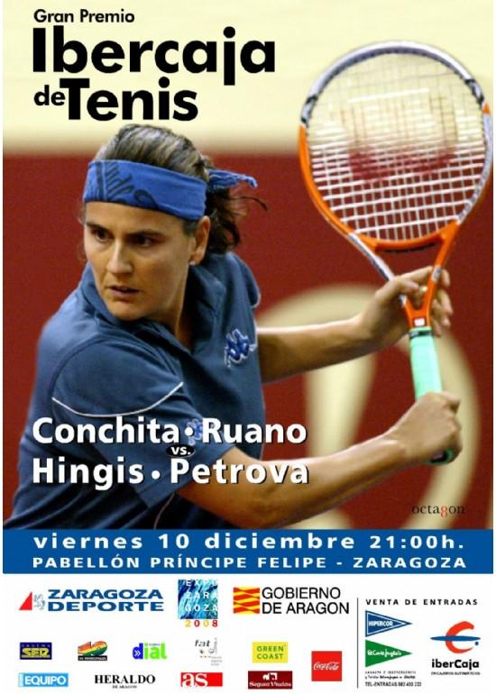 10 diciembre 2004 GRAN PREMIO IBERCAJA DE TENIS FEMENINO