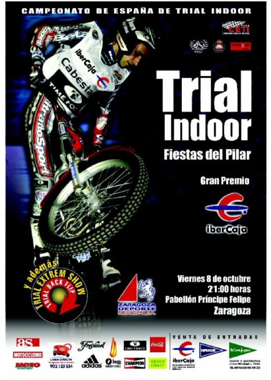 """8 octubre 2004 XV TRIAL INDOOR """"CIUDAD DE ZARAGOZA"""""""
