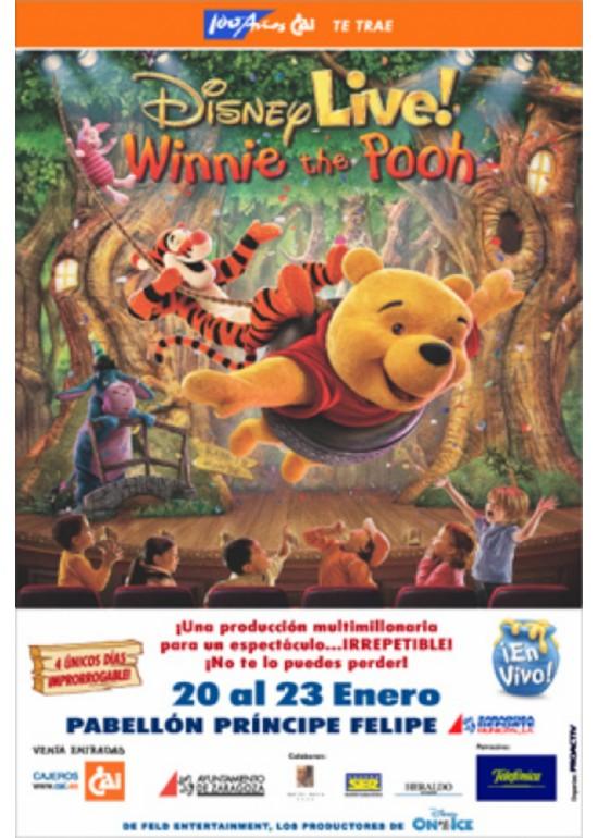"19 a 23 enero 2005 DISNEY LIVE ""WINNIE THE POOH"""