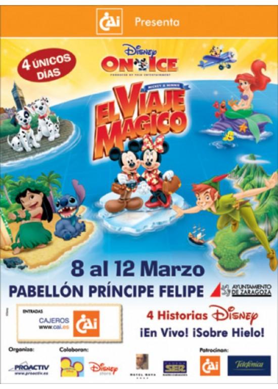 """8 a 12 marzo 2006 DISNEY ON ICE """"MICKEY & MINNIE, EL VIAJE MÁGICO"""""""