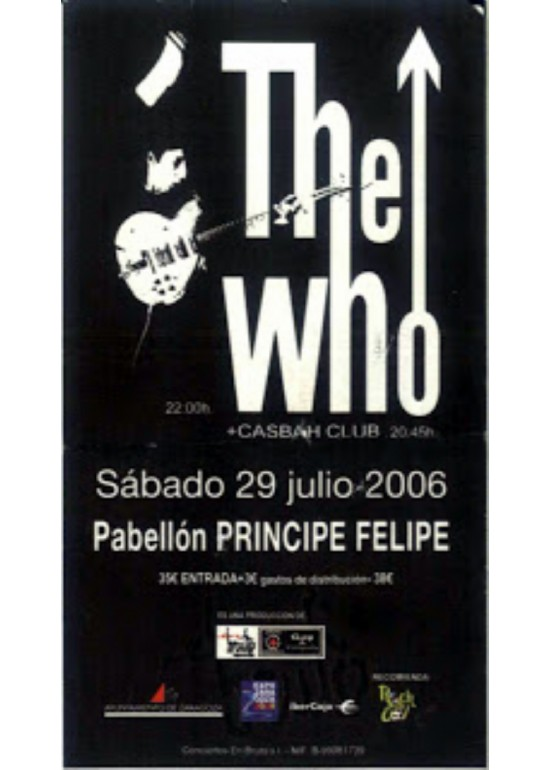 "29 julio 2006 CONCIERTO DE ""THE WHO"""