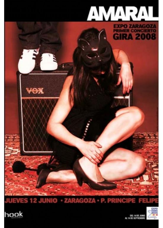 12 junio 2008 CONCIERTO AMARAL EXPO 2008