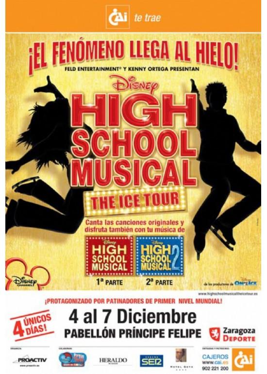 4 a 7 diciembre 2008 HIGH SCHOOL MUSICAL THE ICE TOUR