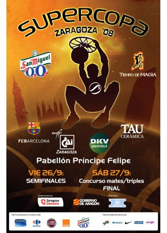 26 y 27 septiembre 2008 SUPERCOPA DE BALONCESTO ACB