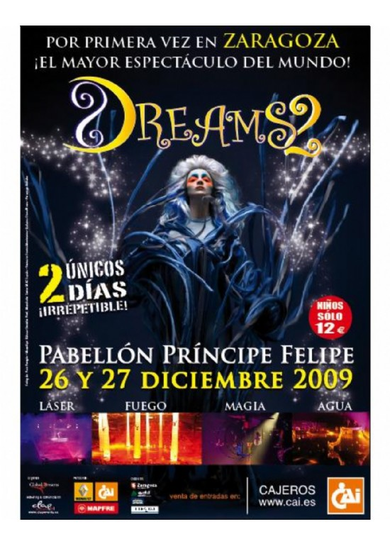 16 a 27 diciembre 2009 ESPECTÁCULO DREAMS 2