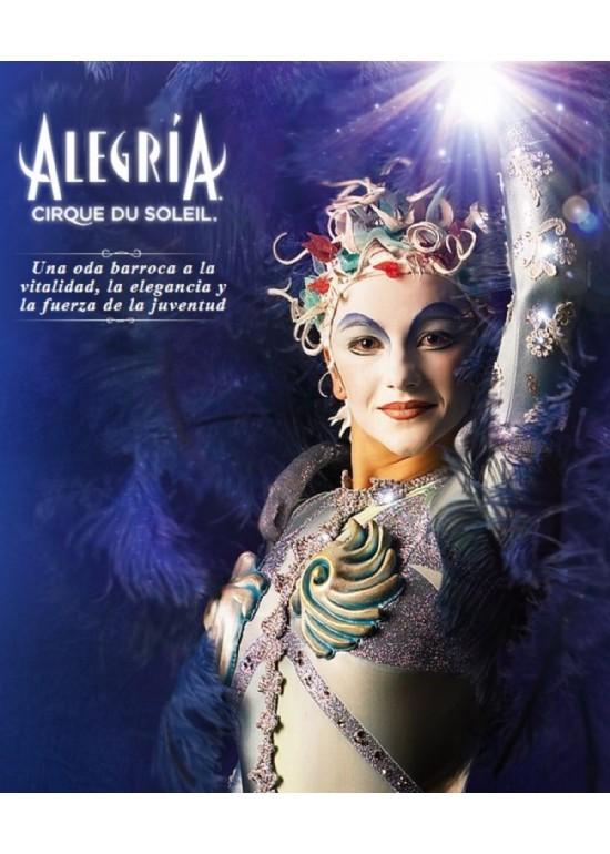 14 al 18 diciembre 2011 CIRQUE DU SOLEIL ALEGRÍA