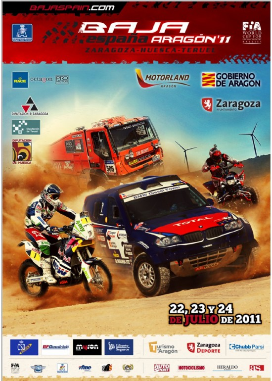 21 al 24 julio 2011 XXVIII BAJA ESPAÑA ARAGÓN