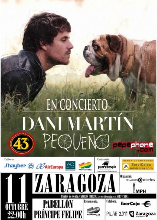11 octubre 2011 CONCIERTO DE DANI MARTÍN