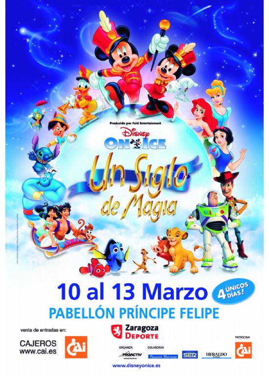 10 al 13 marzo 2011 DISNEY ON ICE UN SIGLO DE MAGIA