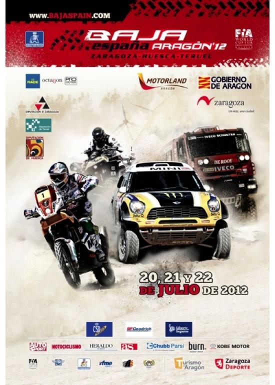 20 al 22 julio 2012 XXIX BAJA ESPAÑA ARAGÓN