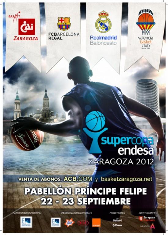 22 y 23 septiembre 2012 SUPERCOPA ENDESA BALONCESTO