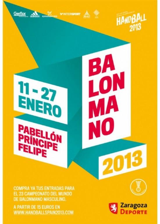 11 al 24 enero 2013 CAMPEONATO del MUNDO de BALONMANO