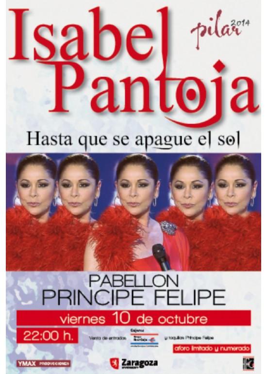 10 octubre 2014 CONCIERTO DE «ISABEL PANTOJA»