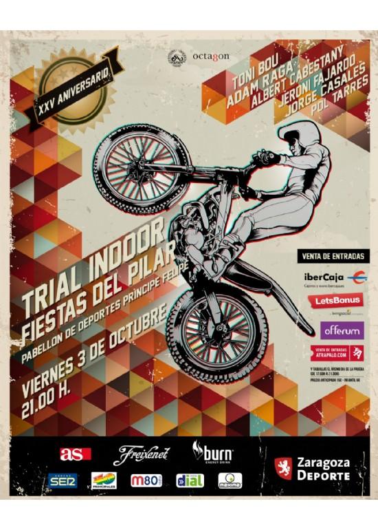 3 octubre 2014 XXV TRIAL INDOOR FIESTAS DEL PILAR