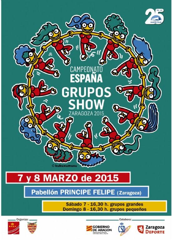 7 marzo 2015 CAMPEONATO DE ESPAÑA DE PATINAJE POR GRUPOS