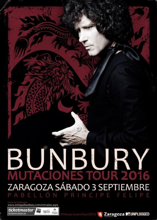 3 septiembre 2016 CONCIERTO DE ENRIQUE BUNBURY