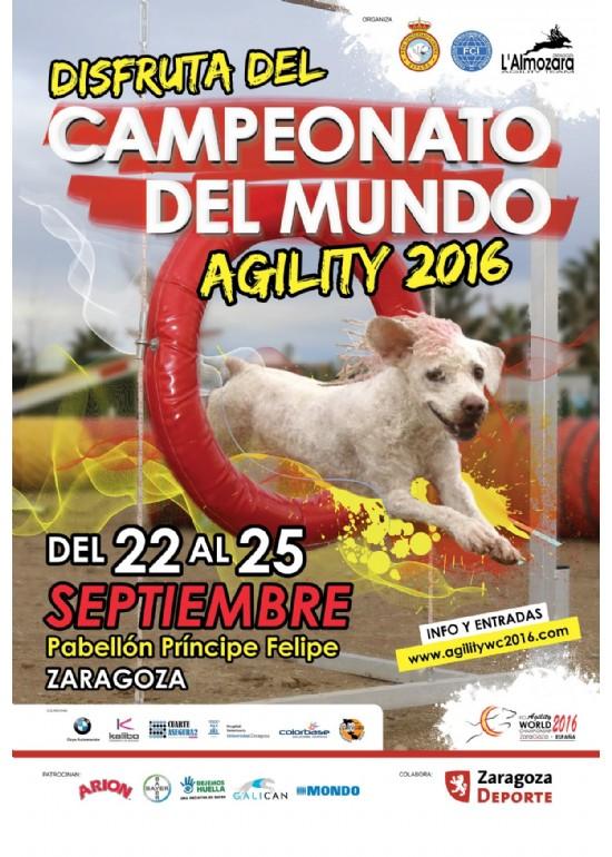 22 al 25 septiembre 2016 XXI CAMPEONATO DEL MUNDO DE AGILITY