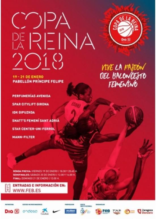 19 al 21 enero 2018 COPA DE LA REINA DE BALONCESTO