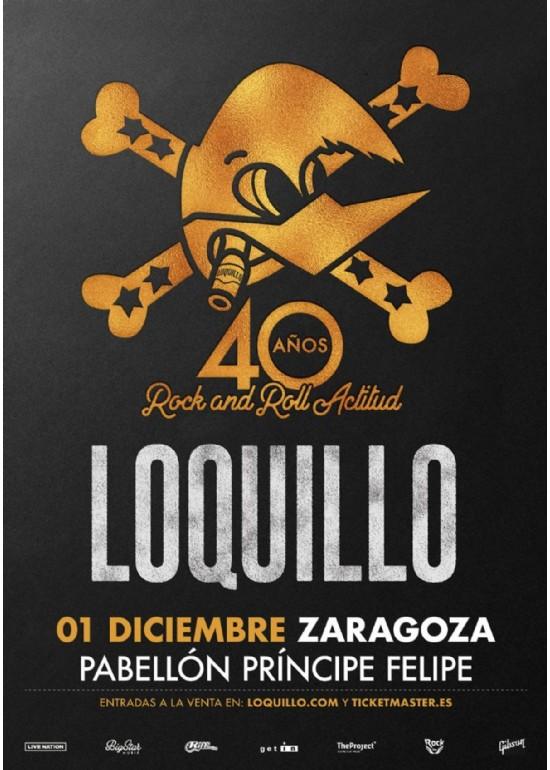 1 diciembre 2018 CONCIERTO DE LOQUILLO